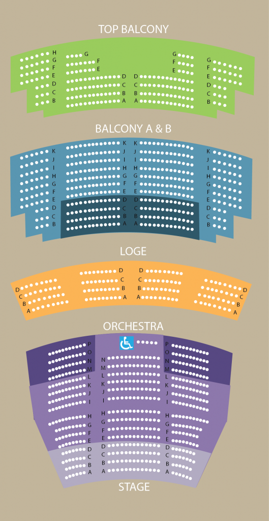 Prices Seating Chart